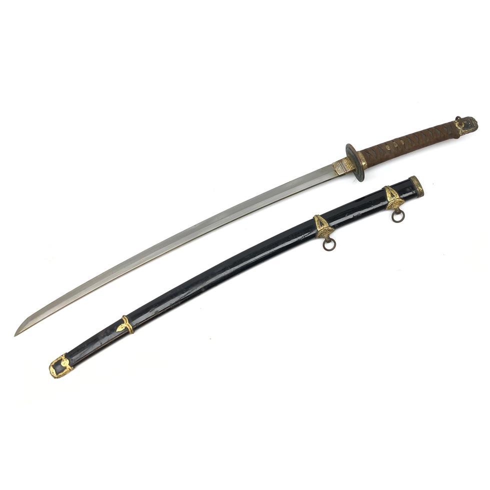 WWII Japanese Naval Kai Gunto sword