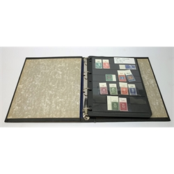 Ring Binder album containing West German mint stamps, 1949 - 1959, S.G. 1033 - 1239, mostly unmounted mint, catalogue value reported to be 5000 pounds plus by the vendor