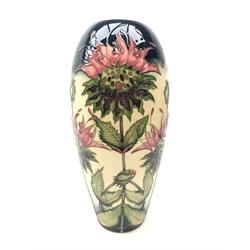 Moorcroft Bergamot pattern vase designed by Vicky Lovatt, ltd. ed. 22/100, H32cm