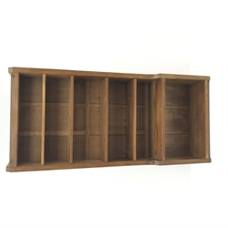 'Mouseman' oak bookcase, four adjustable shelves by Robert Thompson of Kilburn, W84cm, H183cm, D32cm