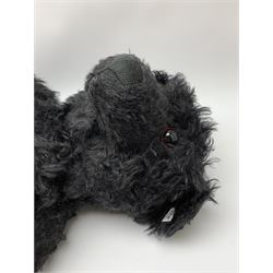Steiff 2003 limited edition 'Teddy Bear 1912' Titanic commemorative black memorial bear, No.1816/1912, H27.5