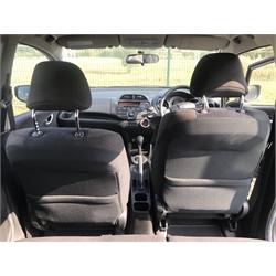 2012 Honda Jazz 1.4 i-VTEC ES CVT. 5 doors, automatic transmission, petrol, climate control, electric windows. 32,000 miles from new. Alloy wheels. No V5 present, No MOT. From local estate.
