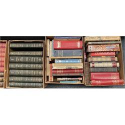 Twelve boxes of miscellaneous books