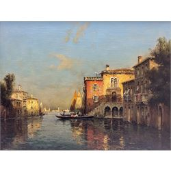Marc Aldine (Antoine Bouvard Snr.) (French 1882-1956): 'Venice', oil on canvas signed 48cm x 63cm Provenance: purchased by the vendor from The Willow Gallery, Weybridge, Surrey May 2003