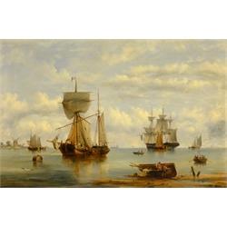 Boats Becalmed