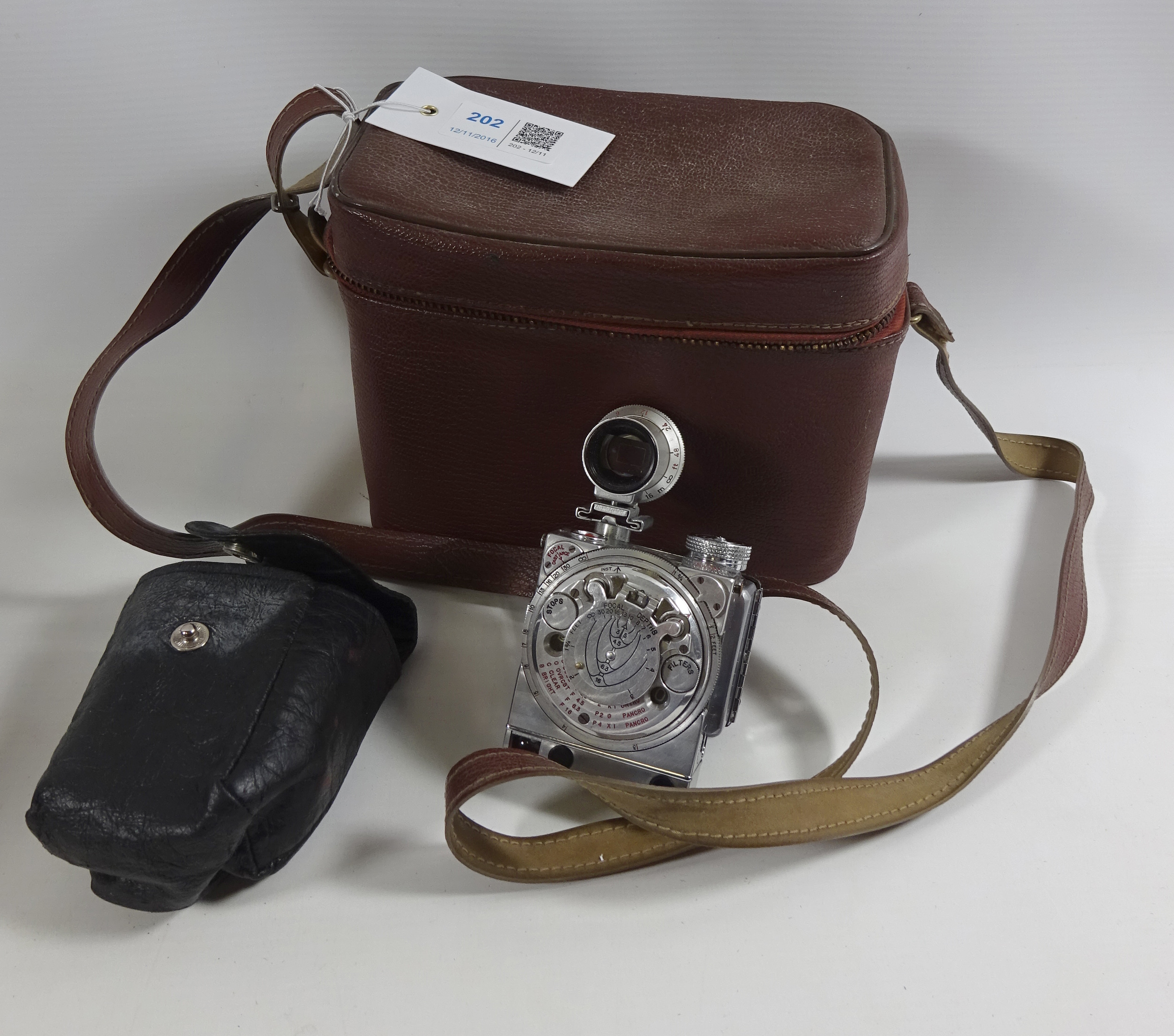 Camera sold for £1,800